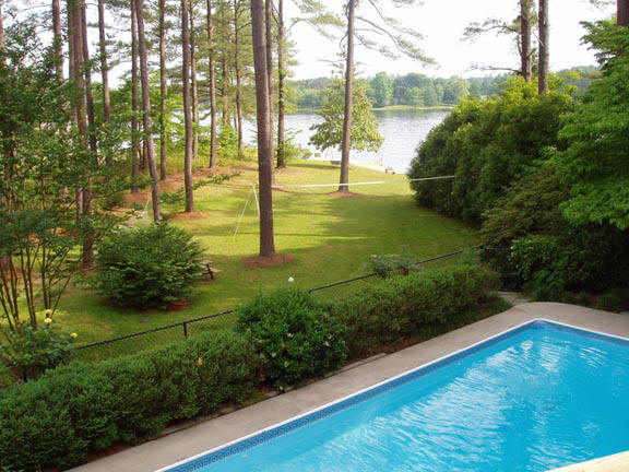 Home Lake gaston rentals with swimming pool